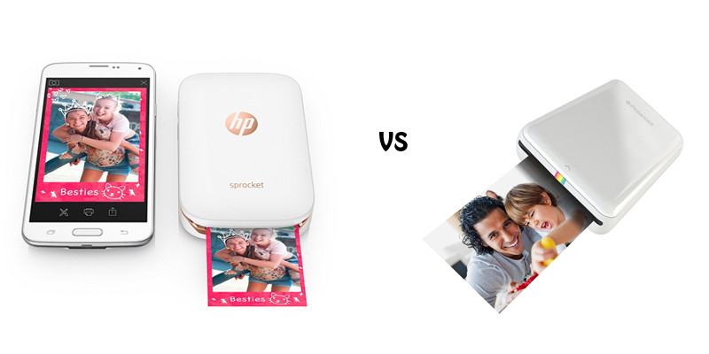 HP Sprocket vs Polaroid Zip