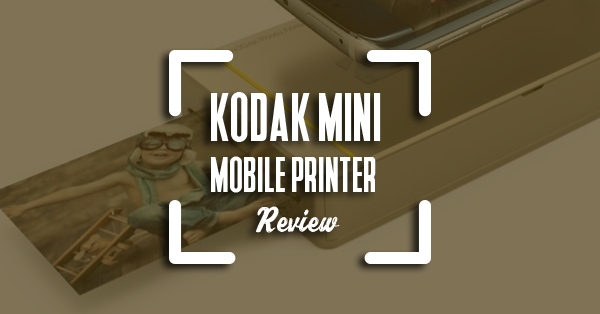 kodak mini mobile printer review